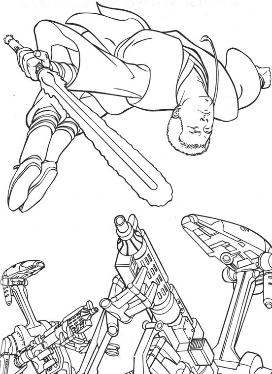 Star Wars Coloring Pages Free Printable Coloring Page