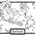 The Lion King Coloring Pages